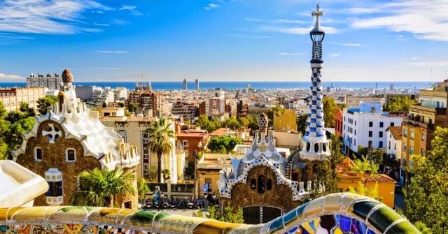 Vista de Barcelona - Parc Güell