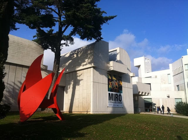 Museo Fundació Miró en Barcelona