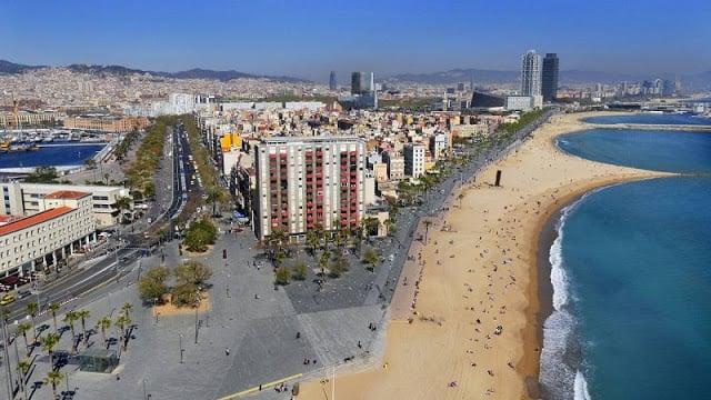 Región de la Playa de la Barceloneta