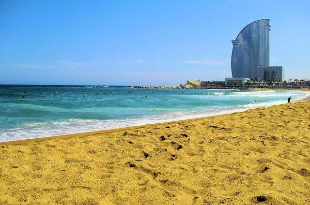 Playa de Barcelona para ir con los niños