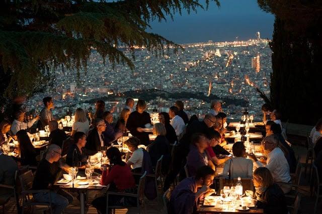 Restaurantes con vista en Barcelona