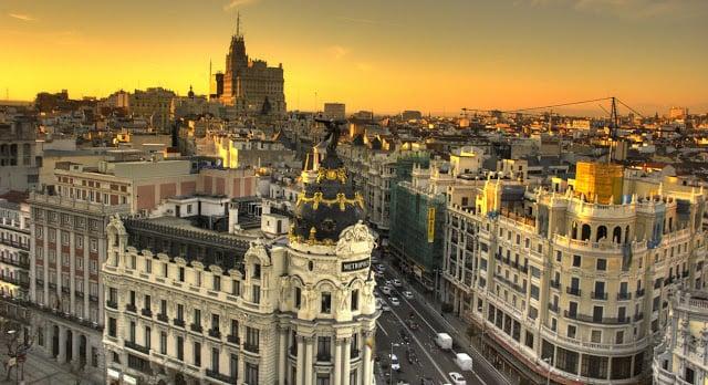 Vista de Madrid - Gran Vía