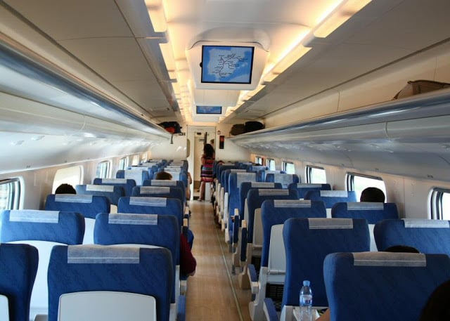 Informaciones del tren de Barcelona a Porto
