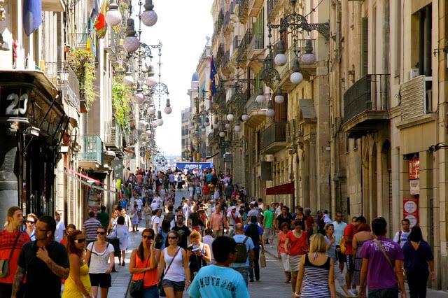 Compras en Barcelona