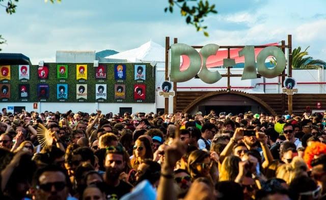 Discoteca DC 10 en Ibiza