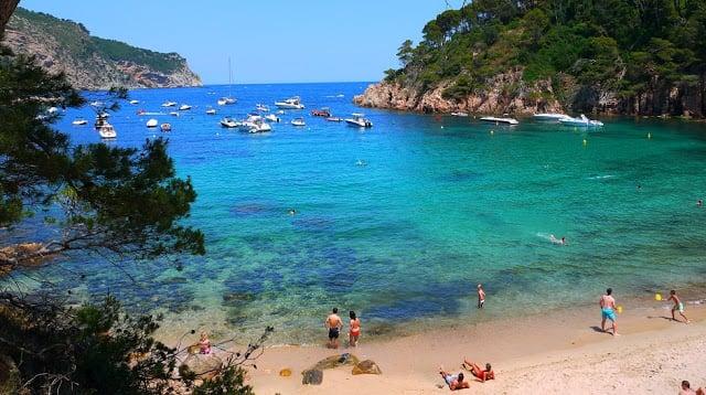 Playas paradisíacas en Costa Brava