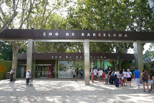Entrada del Zoológico de Barcelona
