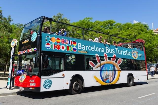 Excursión en autobús turístico en Barcelona