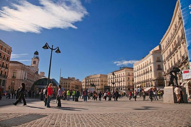 Región Puerta del Sol - centro Madrid