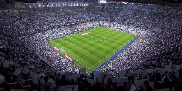 Asistir a un partido del Real Madrid o a un gran espectáculo