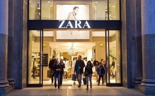 Zara - comprar ropa en Barcelona