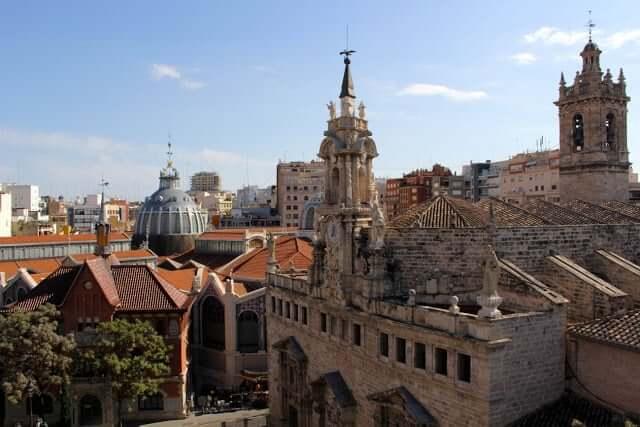 Centro Histórico o Ciudad Vieja de Valencia