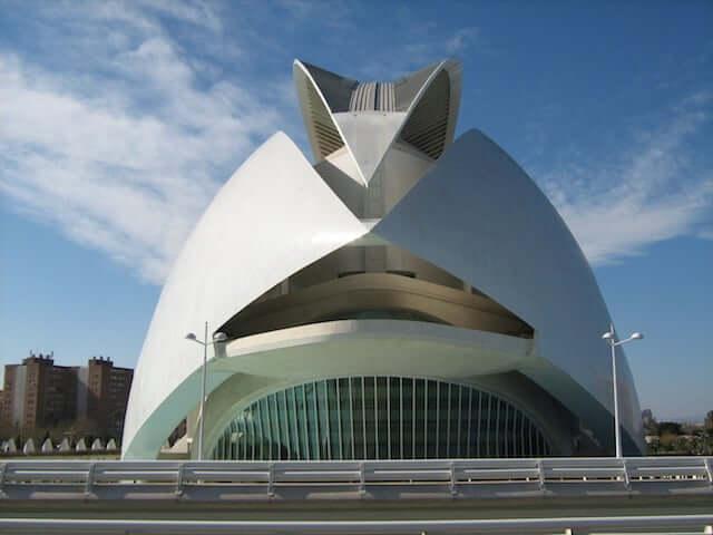 Palacio de Artes de la Reina Sofia en Valencia