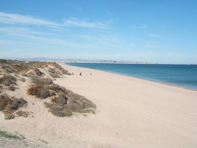 Playa El Saler en Valencia