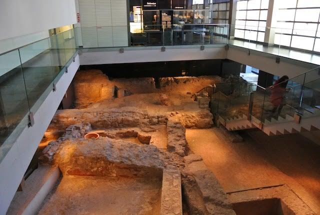 Sitio arqueológico L'Almoina en Valencia