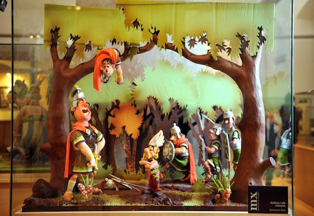 Exposición del Museo del Chocolate