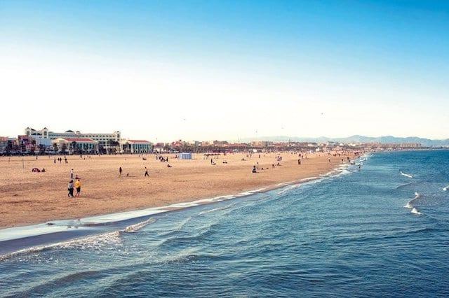 Playa en Valencia