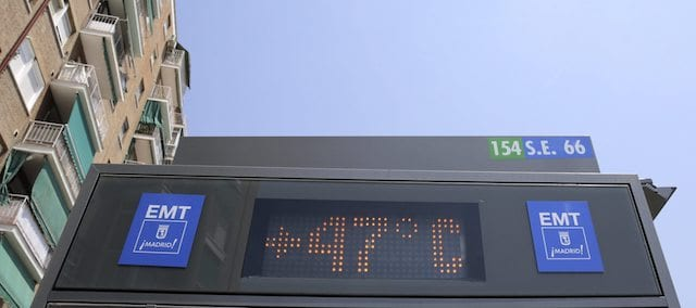 Verano en Madrid - altas temperaturas