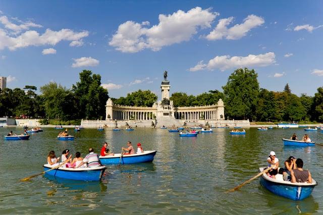 Paseos románticos en Madrid