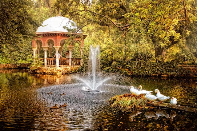 Parque María Luisa en otoño
