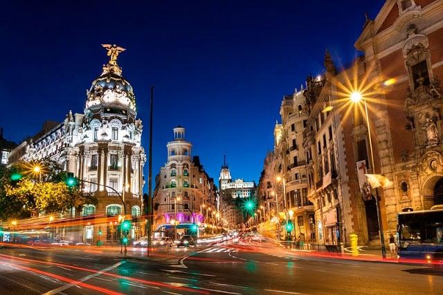 Itinerario de cuatro días en Madrid