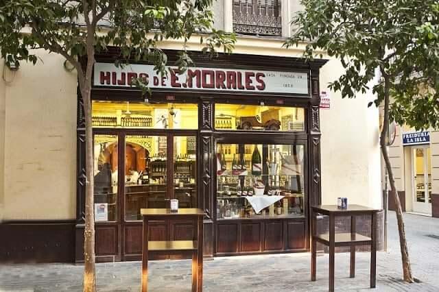 Bodega Casa Morales en Sevilla