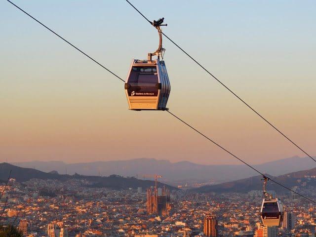 Paseos románticos en Barcelona