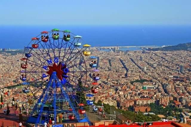 Tibidabo en Barcelona