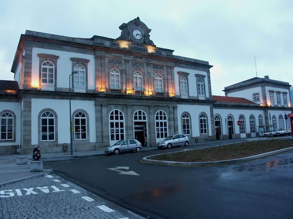 Estación de Campanhã en Porto