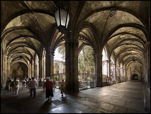 Visita a la Catedral de Barcelona