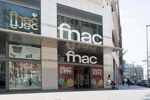 Tienda Fnac en Barcelona