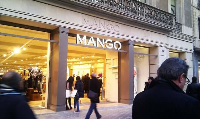 Tienda Mango en Barcelona