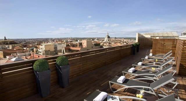 Hotel Cortezo en Madrid - vista