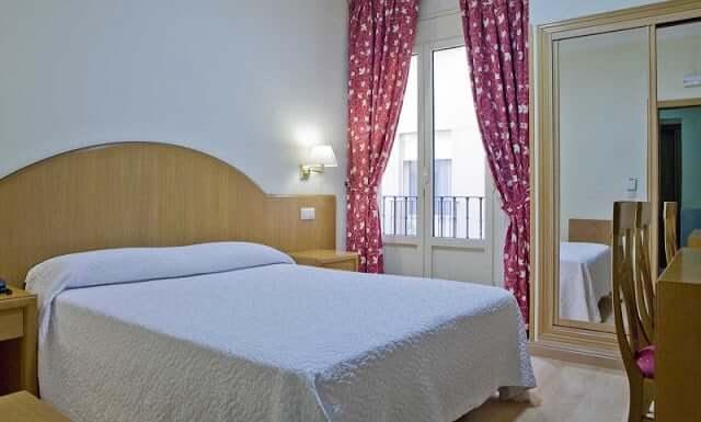 Hotel Europa en Madrid - Habitación