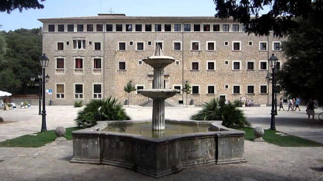 Santuario de Lluc en Mallorca