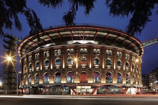 Centro Comercial de Las Arenas en Barcelona