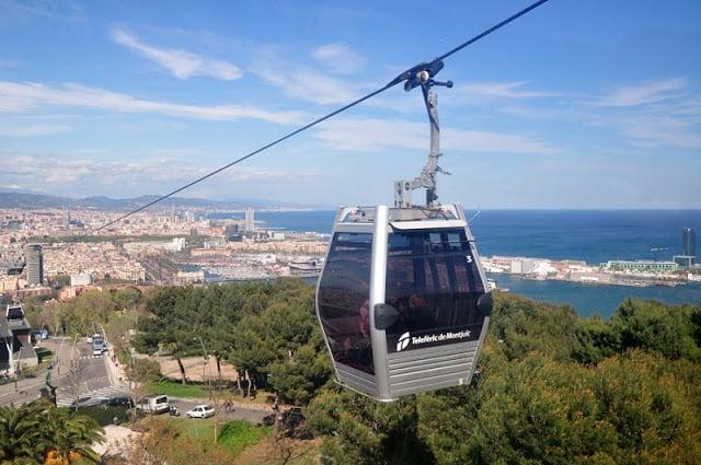 Teleférico del Montjuïc