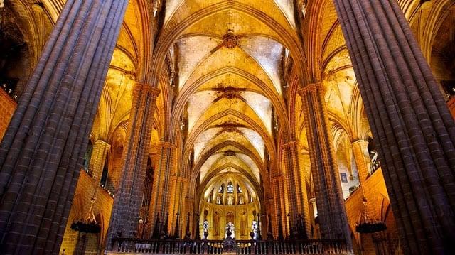 Detalles de la Catedral de Barcelona
