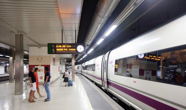 Estación en Barcelona