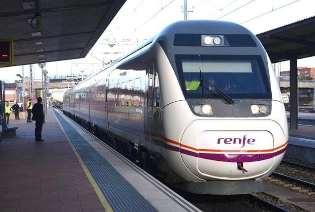 Tren Renfe en España