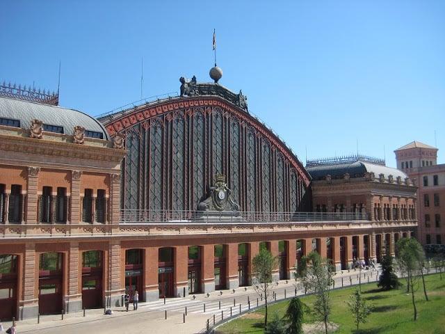 Estación Atocha en Madrid