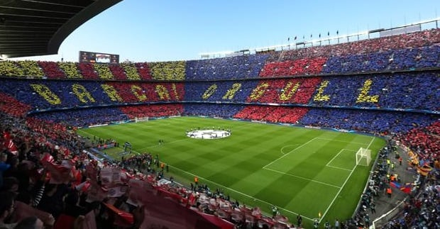 Estadio Camp Nou de Barcelona
