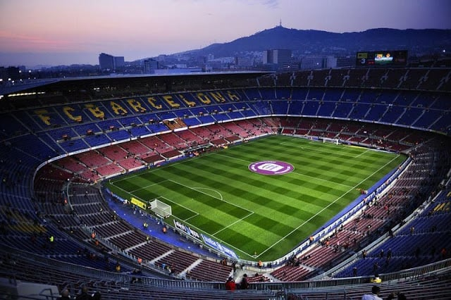 FC Barcelona Tour por el Camp Nou