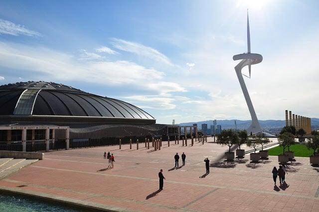 Anillo Olímpico de Barcelona en Montjuïc