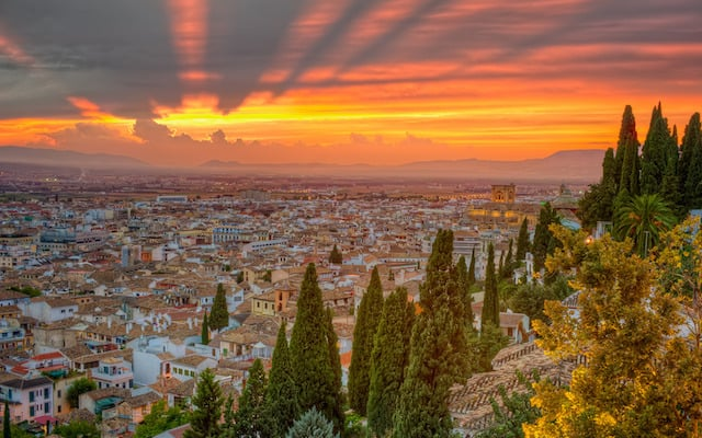Vista de Granada - Alhambra