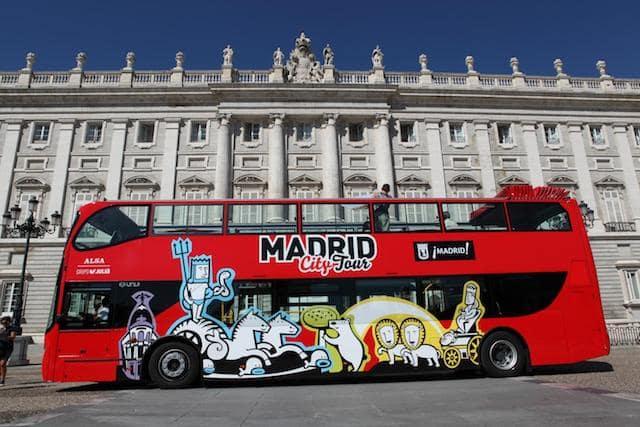 Autobús Hop On Hop Off en Madrid