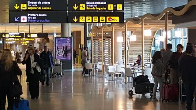 Aeropuerto de Valencia - interior