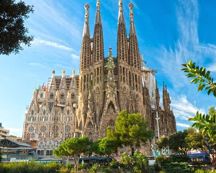 Sagrada Família en Barcelona